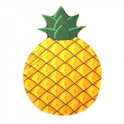 Pineapple shape beach towel