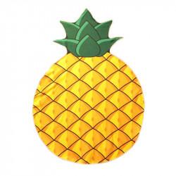 Pineapple shape beach towel