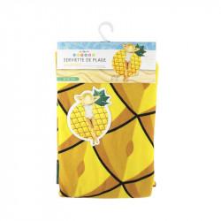 Grossiste. Drap de plage au design ananas