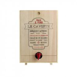 Grossiste. Distributeur de vin en bois
