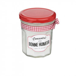 Grossiste. Bougie pot de confiture concentré de M24 blanc