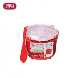 Grossiste. Cuiseur à riz spécial micro-ondes rouge