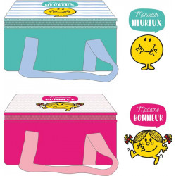 Monsieur and Madame lunch bag