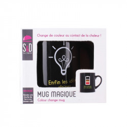 Grossiste. Mug qui change de couleur