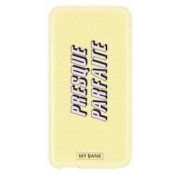 Grossiste. MYBANK Powerbank batterie externe puissance 2600mAh Presque Parfaite - Jaune