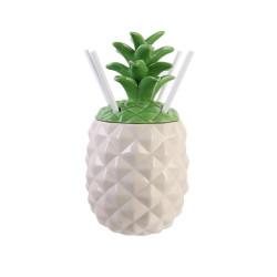 Grossiste et fournisseur. Coffret cocktail mason jar ananas.