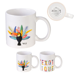 Grossiste. Mug exotique  de 30 cl