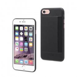 Grossiste. Coque avec rangement carte pour iPhone 7 Muvit - Noir
