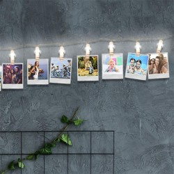 12-LED-photo-clip string...