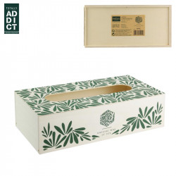 Jungle style tissue box cover