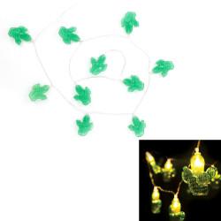 Grossiste. Guirlande lumineuse à LED au design cactus