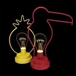 Grossiste. Décoration lumineuse à LED en acrylique au design exotique
