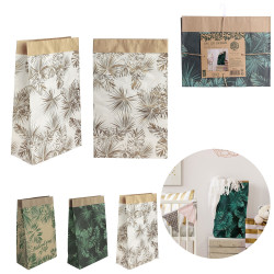 Grossiste sac en papier Natural Life - 45x13x28 cm