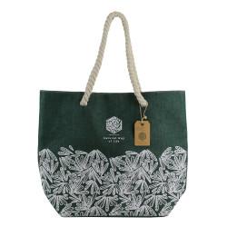 Grossiste de sac cabas Natural Life vert