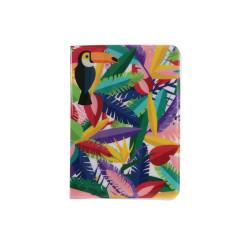 Grossiste. Protège-passeport au style exotique multicolore