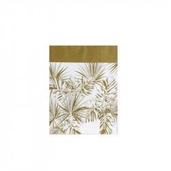 Grossiste sac en papier Natural Life - 26x21x10cm blanc