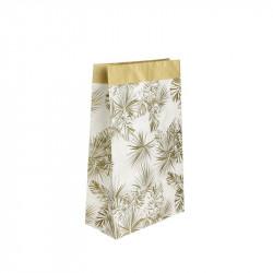 Grossiste sac en papier Natural Life - 45x13x28 cm blanc