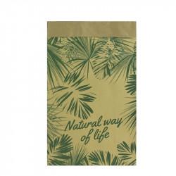 Grossiste sac en papier Natural Life - 45x13x28 cm beige