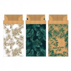 Grossiste sac en papier Natural Life 65x16x32 cm