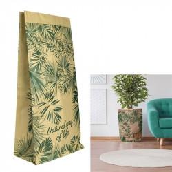 Grossiste sac en papier Natural Life 65x16x32 cm beige