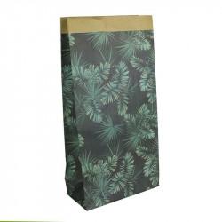 Grossiste sac en papier Natural Life 65x16x32 cm vert