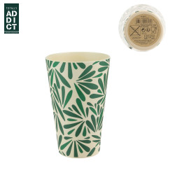 Bamboo fibre drinking cup