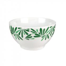 Grossiste Bol à céréales en céramique Natural way of life avec illustration feuilles
