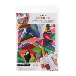 Grossiste Protège-documents de voyage au style exotique - toucan