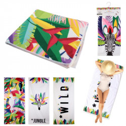 Exotic style beach towel