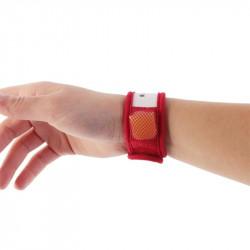Grossiste Bracelet exotique anti-moustiques avec recharge citronnelle rouge