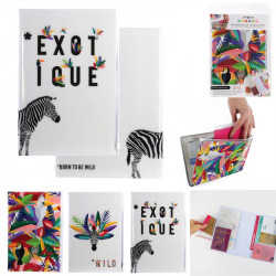 Exotic style passport...