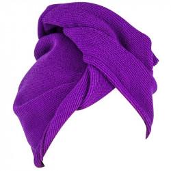 Grossiste et fournisseur. Serviette microfibre cheveux violette