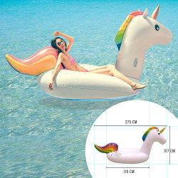 Large unicorn shape...