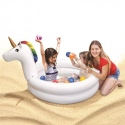 Unicorn inflatable pool for...