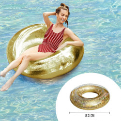 Inflatable sequins swimming...
