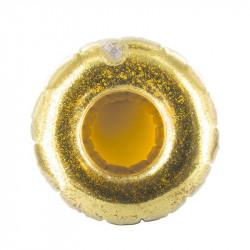 Grossiste Porte-gobelet gonflable à paillettes dorées