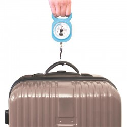 Grossiste et fournisseur. Pèse-bagage bleu