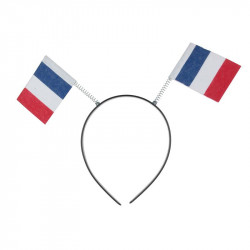 "5x11"" French flag headband"