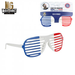 """6x2"""" French supporter glasses"""