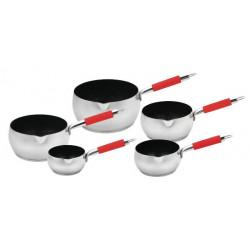 Set de casseroles inox 5...