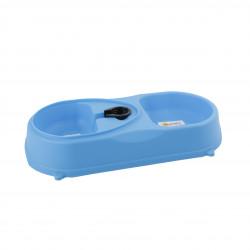 Grossiste Gamelle double plastique - bleue