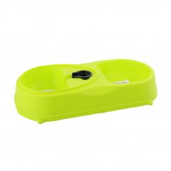 Grossiste Gamelle double plastique  - vert