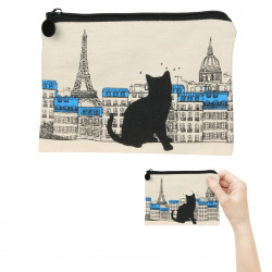 Grossiste Pochette chat - Tour Eiffel
