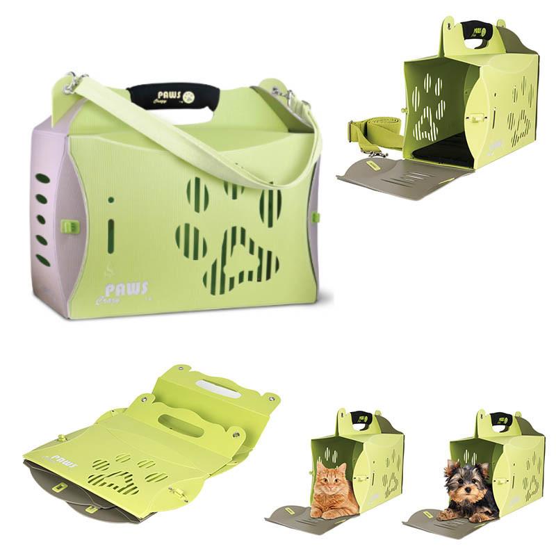 Grossiste Boîte de transport pliable vert