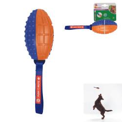 Grossiste Ballon de rugby sonore - orange