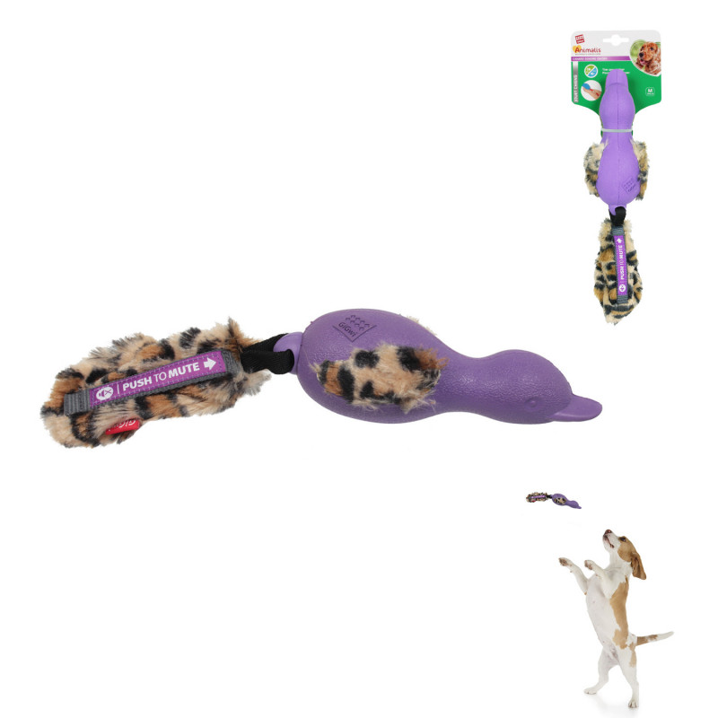 Grossiste Jouet en forme de canard sonore violet