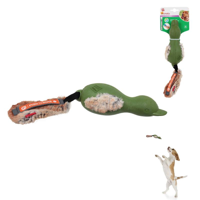 Grossiste Jouet en forme de  canard sonore vert
