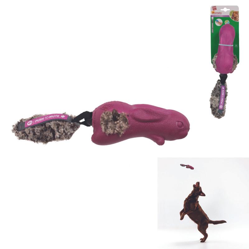 Grossiste Jouet en forme de  lapin sonore violet