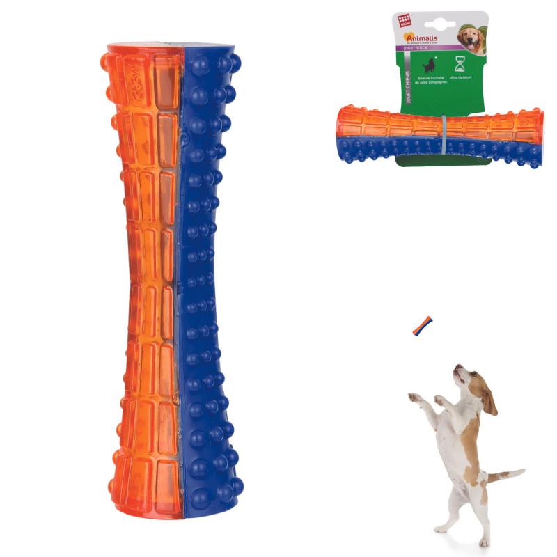 Grossiste Jouet stick sonore orange pour chien - taille M