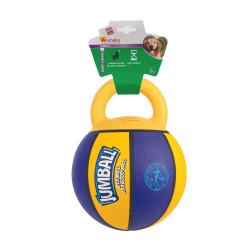 Grossiste Ballon de basket violet et jaune avec poignée
